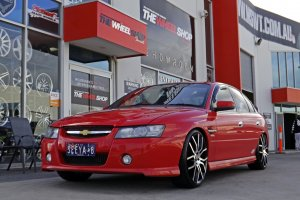 HOLDEN WITH G8 F SERIES WHEELS  |  | HOLDEN