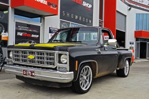 CHEVY TRUCK WITH FOOSE WHEELS  |  | CHEVY