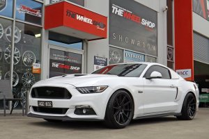 FORD MUSTANG WITH KOYA SF04 WHEELS |  | FORD
