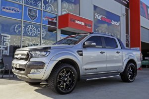 FORD RANGER WITH 20INCH FUEL WHEELS  |  | FORD