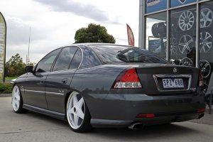 HOLDEN VY WITH 20INCH STAR WHEELS  |  | HOLDEN