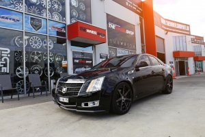 CADILLAC CTS WITH 20 INCH VERTINI DYNASTY WHEELS  |  | HOLDEN
