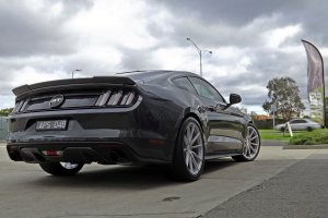 FORD MUSTANG WITH 20 INCH KOYA SF04 WHEELS   |  | FORD