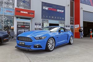 FORD MUSTANG WITH 20 INCH SHELBY WHEELS  |  | FORD
