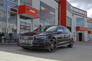 AUDI S3 WITH 20 INCH HR BLADE WHEELS  |  | AUDI