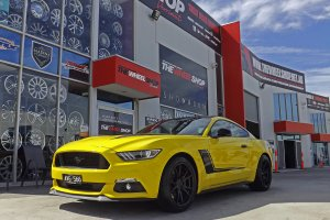 FORD MUSTANG WITH KOYA SF06 WHEELS  |  | FORD