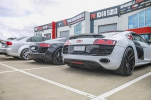 SUPERCAR SUNDAY AT THE WHEEL SHOP |  | AUDI