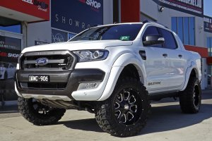 FORD RANGER WITH KMC MOTO WHEELS  |  | FORD
