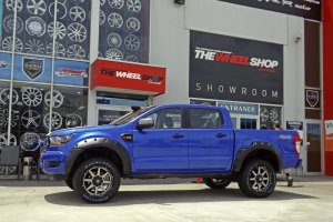 FORD RANGER WITH 20 INCH HUSSLA WHEELS  |  | FORD