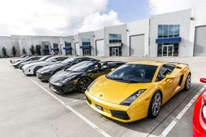 LAMBORGHINI GALLARDO  AT THE WHEEL SHOP  |  | LAMBORGHINI