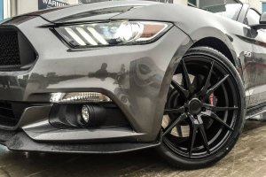 FORD MUSTANG WITH KOYA SF WHEELS |  | FORD