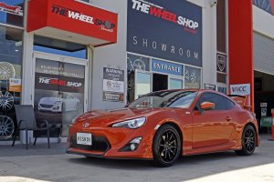 TOYOTA 86 WITH 18 INCH HUSSLA WHEELS  |  | TOYOTA