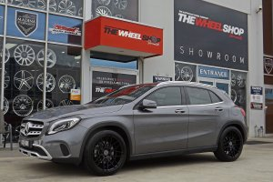 MERCEDES GLA WITH 19 INCH 1060 WHEELS  |  | MERCEDES