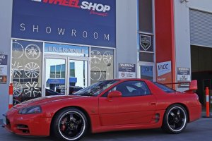 MITSUBISHI 3000GT WITH SIMMONS FR1 WHEELS  |  | MITSUBISHI