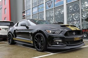 FORD MUSTANG WITH KOYA WHEELS  |  | FORD