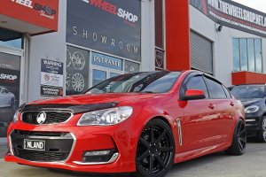 HOLDEN VF SS WITH VERTINI DYNASTY WHEELS  |  | HOLDEN
