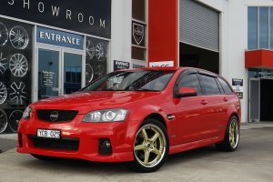 HOLDEN WAGON WITH VERTINI DRIFT WHEELS  |  | HOLDEN