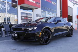 CHEVORLET CAMARO WITH KOYA SF11 WHEELS  |  | CHEVORLET