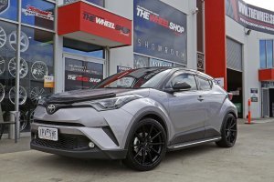 TOYOTA CH-R WITH HUSSLA WHEELS  |  | TOYOTA