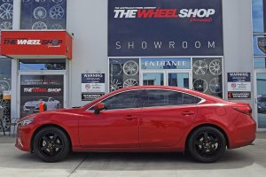 MAZDA 6 WITH SIMMONS FR1 WHEELS  |  | MAZDA