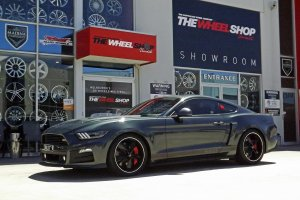 FORD MUSTANG WITH FOOSE WHEELS |  | FORD