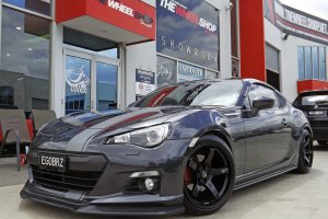 TOYOTA 86 WITH 18 INCH HUSSLA GT  WHEELS  |  | TOYOTA