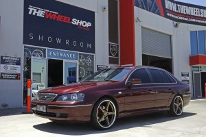 FORD WITH 20 INCH VERTINI RF1.7 WHEELS  |  | FORD