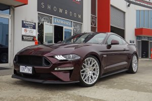 FORD MUSTANG WITH ROTIFORM WHEELS  |  | FORD