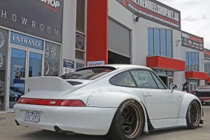 PORSCHE 993 WITH ROTIFORM ZRH-T WHEELS  |  | PORSCHE