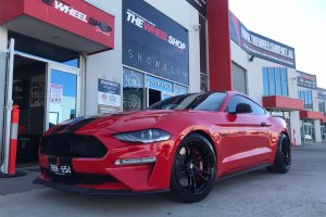 FORD MUSTANG WITH 20 INCH P51 WHEELS  |  | FORD