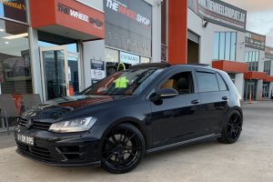 VW GOLF WITH 19 INCH KOYA WHEELS  |  | VW