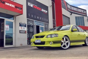 FORD FALCON WITH 20 INCH FR1 WHEELS  |  | FORD