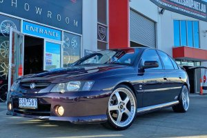 HOLDEN VY WITH SIMMONS FR1 WHEELS  |  | HOLDEN