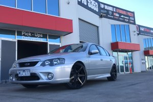 FORD FALCON WITH VERTINI DYNASTY WHEELS  |  | FORD