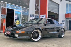 TOYOTA MR2 WITH 17 INCH OX WHEELS |  | TOYOTA