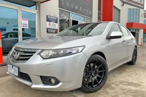 HONDA ACCORD WITH HUSSLA WHEELS  |  | HONDA