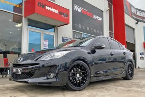 MAZDA 3 WITH 18 INCH MESH WHEELS  |  | MAZDA