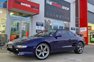 TOYOTA MR2 WITH AVID1 WHEELS |  | TOYOTA