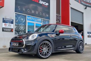 MINI COOPER WITH 19 INCH ROTIFORM WHEELS |  | BMW