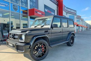 MERCEDES G WAGON WITH OX WHEELS  |  | MERCEDES