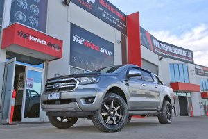 FORD RANGER WITH HUSSLA WHEELS  |  | FORD