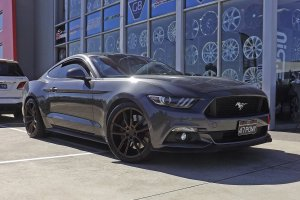 FORD MUSTANG WITH KOYA SF11 WHEELS  |  | FORD