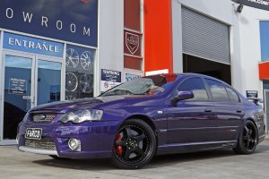 FORD FPV WITH 19 INCH SIMMONS FR1 WHEELS |  | FORD